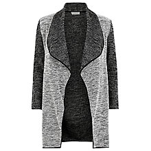 Buy Windsmoor Textured Long Jacket, Dark Grey Online at johnlewis.com