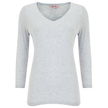 Buy Phase Eight Piper Pleat Back Knit Top, Grey Online at johnlewis.com
