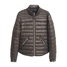 Buy Mango Side Zip Quilted Coat Online at johnlewis.com
