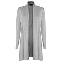 Buy Phase Eight Lili Longline Cardigan, Grey Online at johnlewis.com