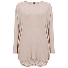 Buy Phase Eight Charlotte Cross Back Top, Pebble Online at johnlewis.com