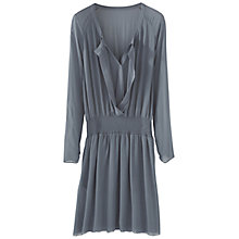 Buy Wrap London Nessie Dress, Teal Smoke Online at johnlewis.com
