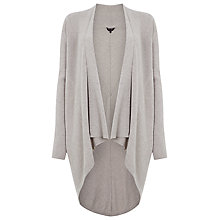 Buy Phase Eight Heidi Cut About Cardigan, Wheat Marl Online at johnlewis.com