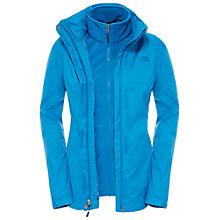Buy The North Face Evolve II Triclimate 3-in-1 Waterproof Women's Jacket, Blue Online at johnlewis.com
