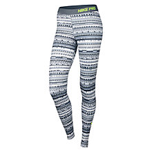 Buy Nike Pro Hyperwarm 8 Bit Tights, Grey Online at johnlewis.com