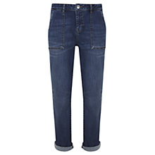 Buy Mint Velvet Boyfriend Jeans, Dark Indigo Online at johnlewis.com