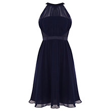 Buy Coast Angelique Short Dress, Navy Online at johnlewis.com