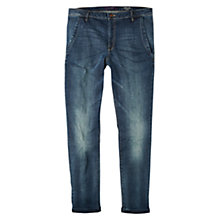 Buy Violeta by Mango Chino-Fit Rosalina Jeans, Open Blue Online at johnlewis.com