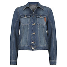 Buy Mint Velvet Western Denim Jacket, Blue Online at johnlewis.com