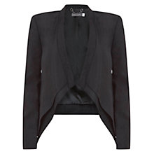 Buy Mint Velvet Tux Jacket, Black Online at johnlewis.com
