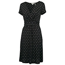 Buy Fat Face Camille Triangle Geo Dress, Phantom Online at johnlewis.com