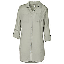 Buy Fat Face Emma Longline Shirt Dress Online at johnlewis.com