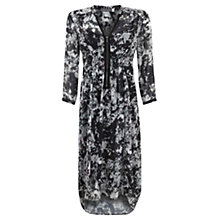 Buy Mint Velvet Naomi Print Zip Front Dress, Multi Online at johnlewis.com