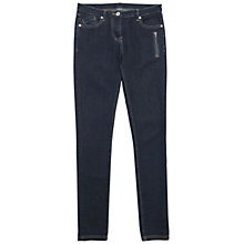 Buy Wrap London Morgan Skinny Fit Jeans, Dark Denim Online at johnlewis.com