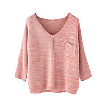 Buy Wrap London Kimberley Jumper, Pink Coral Online at johnlewis.com
