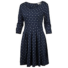 Buy Fat Face Kew Daisy Diamond Dress, Navy Online at johnlewis.com