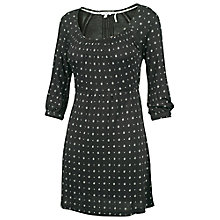 Buy Fat Face Fenhurst Tunic Triangle Dress, Phantom Online at johnlewis.com