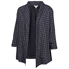 Buy Fat Face Callington Triangle Print Cover Up, Navy Online at johnlewis.com