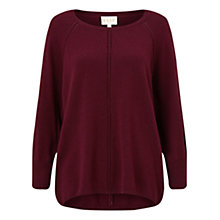 Buy East Scoop Neck Sweater, Scarlet Online at johnlewis.com