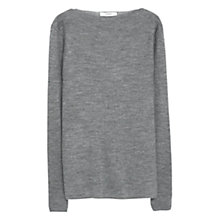 Buy Mango Ribbed Wool-Blend Jumper Online at johnlewis.com