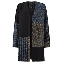 Buy Jigsaw Lyria Stripe Patchwork Coat, Multi Online at johnlewis.com