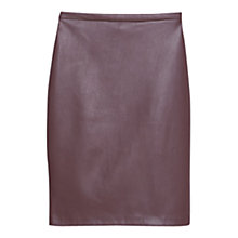 Buy Mango Vent Detail Pencil Skirt Online at johnlewis.com