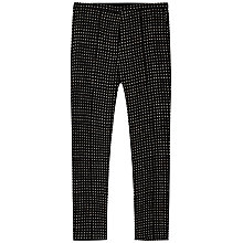 Buy Gerard Darel Bidule Square Dot Print Trousers, Black Online at johnlewis.com