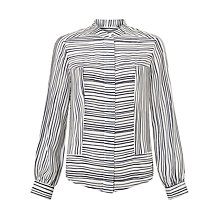 Buy Bruce by Bruce Oldfield Patch Stripe Shirt, Navy/White Online at johnlewis.com