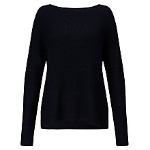 Buy John Lewis Capsule Collection Mixed Stitch Crew Neck Jumper Online at johnlewis.com