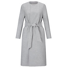 Buy John Lewis Capsule Collection Viola Longline Duster Coat, Grey Online at johnlewis.com
