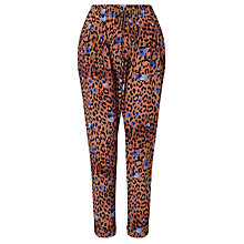 Buy Somerset by Alice Temperley Leopard Print Trousers, Multi Online at johnlewis.com