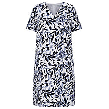 Buy John Lewis Capsule Collection Elda Shadow Leaf Dress, Multi Online at johnlewis.com