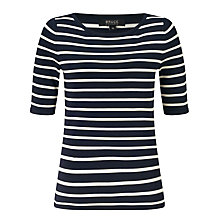 Buy Bruce by Bruce Oldfield Shine Stripe Knit Top Online at johnlewis.com