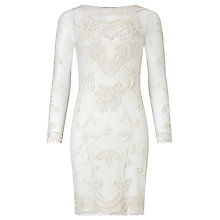 Buy Somerset by Alice Temperley Lace Dress, Cream Online at johnlewis.com