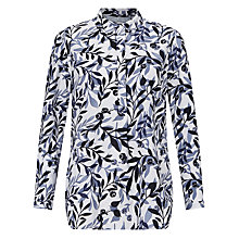 Buy John Lewis Capsule Collection Shadow Leaf Print Shirt, Multi Online at johnlewis.com
