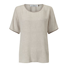Buy John Lewis Capsule Collection Bark Print Top, Neutral Online at johnlewis.com