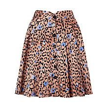 Buy Somerset by Alice Temperley Leopard Print Skirt, Multi Online at johnlewis.com
