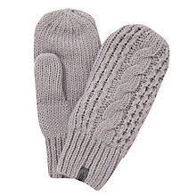 Buy The North Face Cable Knit Women's Mittens Online at johnlewis.com