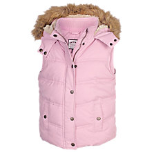 Buy Fat Face Girl's Abbey Gilet Online at johnlewis.com