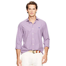 Buy Polo Ralph Lauren Long Sleeve Poplin Shirt Online at johnlewis.com