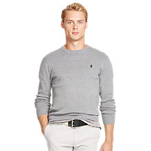 Buy Polo Ralph Lauren Slim Fit Cotton Jumper Online at johnlewis.com