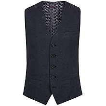 Buy Ted Baker Mywai Cotton Waistcoat, Blue Online at johnlewis.com