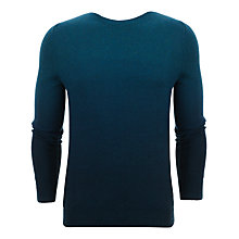 Buy Ted Baker Holaday Cotton Blend Jumper, Dark Green Online at johnlewis.com