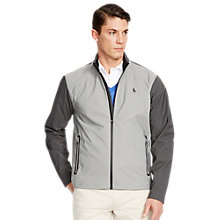 Buy Polo Golf by Ralph Lauren Core Breaker Jacket, Grey Online at johnlewis.com