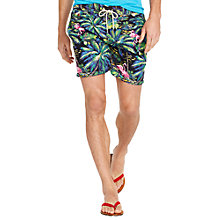 Buy Polo Ralph Lauren Traveler Swim Shorts, Flamingo Tropical Online at johnlewis.com
