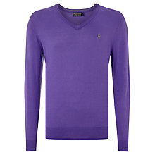 Buy Polo Golf by Ralph Lauren V-Neck Jumper Online at johnlewis.com