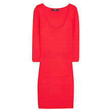 Buy Mango Textured Fitted Dress Online at johnlewis.com