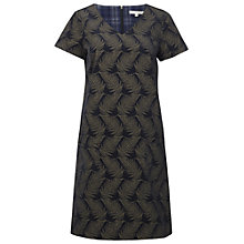 Buy White Stuff Crafters Print Dress, Denim Blue Online at johnlewis.com
