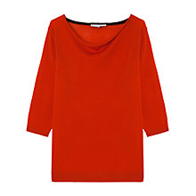Buy Gerard Darel Merino Wool Bomba Jumper, Orange Online at johnlewis.com