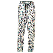 Buy White Stuff Deer Fox Print Pyjama Bottoms, Natural Online at johnlewis.com